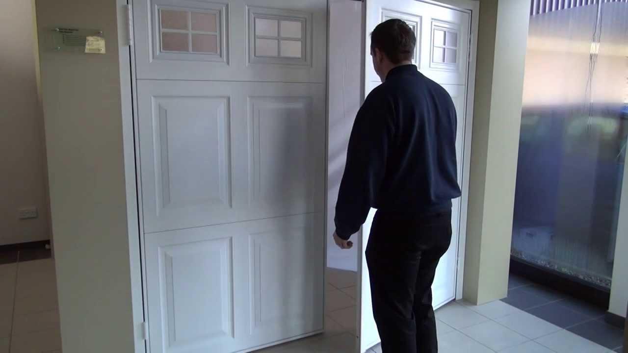 Garador Side Hinged Garage Door Product Showcase Youtube