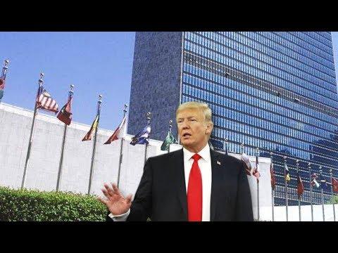 Trump talks tough at UN