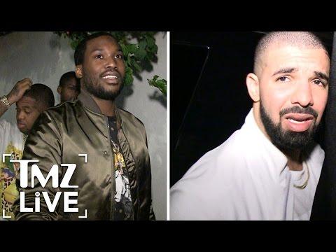 Meek Mill Disses Drake AGAIN! (TMZ Live)