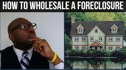 How to Wholesale a Foreclosure using Transactional Funding