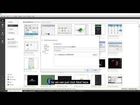 Creating a simple widget app