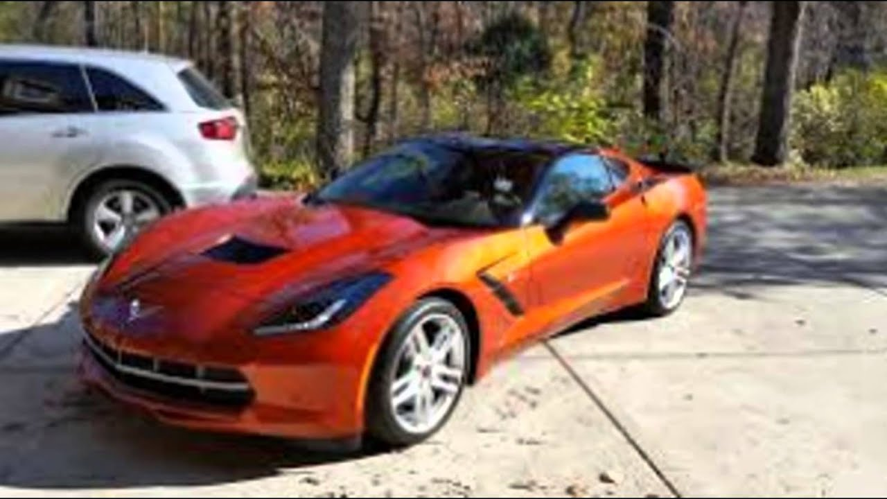 Chevrolet Corvette Stingray >> 2016 Chevrolet Corvette Stingray Z06 Daytona Sunrise Orange Metallic - YouTube