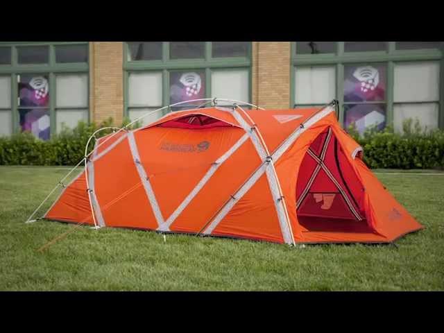 Mountain Hardwear EV 3 Tent & Mountain Hardwear | Tent Pitching Instructions | TravelBook.TV