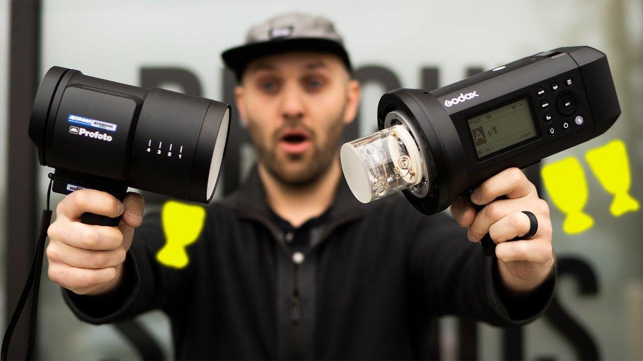 Profoto B10 vs Godox AD400 Pro (Flashpoint Xplor 400 Pro)