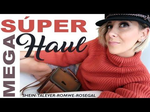 SUPER MEGA HAUL 2018: Shein, Talever, Romwe, Rosegal