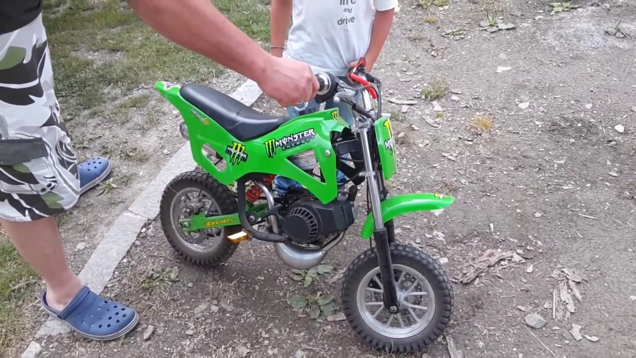49cc mini kids dirt bike youtube. Black Bedroom Furniture Sets. Home Design Ideas