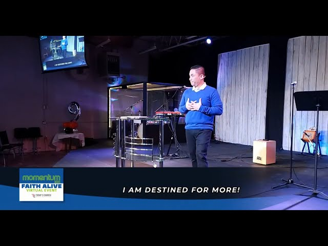 I am Destined for MORE! | Danrey Amoyo | Today's Church Online (Mar 21, 2021)