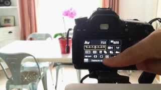 Canon 70D tip #9: Setting up for HDR
