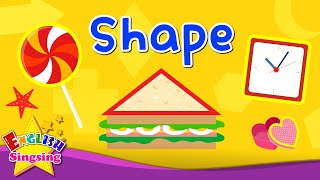Kids vocabulary - Shape - Names of Shapes - Learn English for kids - English educational video