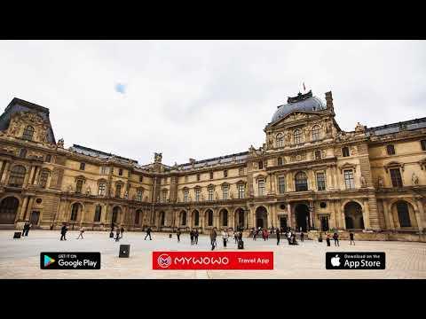 Louvre Palace – Cour Napoleon – Paris – Audio Guide – MyWoWo  Travel App