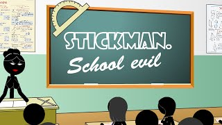 Stickman School Evil