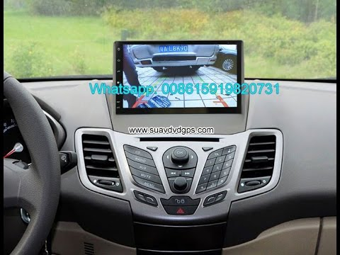 ford fiesta audio radio car android wifi gps navigation camera 9inch youtube. Black Bedroom Furniture Sets. Home Design Ideas