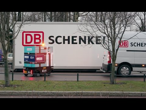 LMAD parcel delivery in Helsinki with DB Schenker