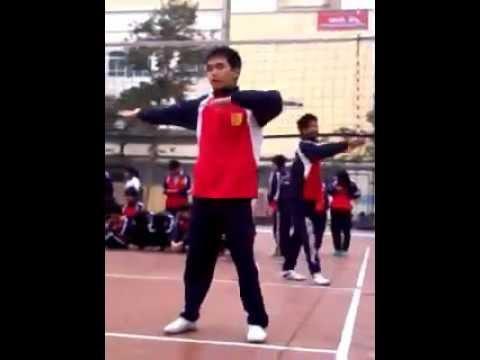 80 động tác thể dục của trường ĐHCNHN