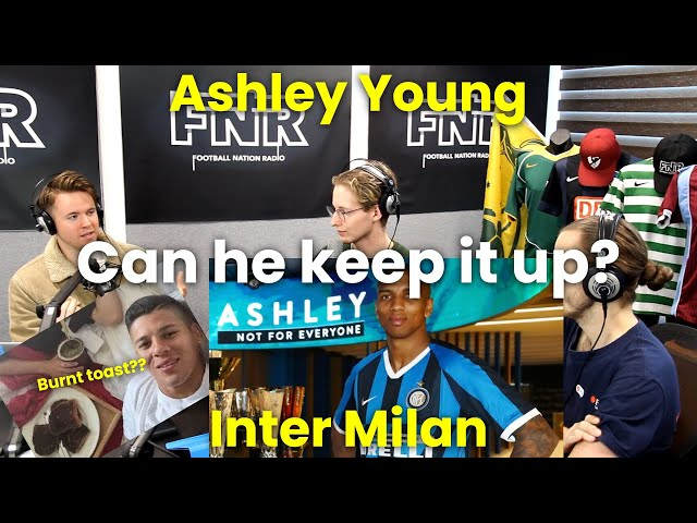 Ashley Young First Assist Inter Milan | Skill Discussion | AUS International Football Podcast #3
