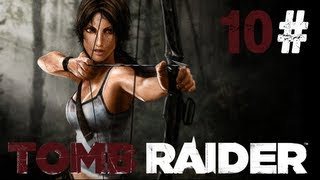 Lets play Tomb Raider 2013 gameplay walkthrough with hilarious commentary Blind! #10