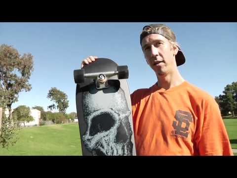 Santa Cruz Skateboards: Street Creep Blackout Cruzer