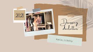 Dressing declutter 2021 | Katie_lifefly