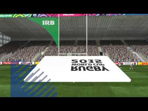 Rugby World Cup 2015 New Zeland vs EEUU