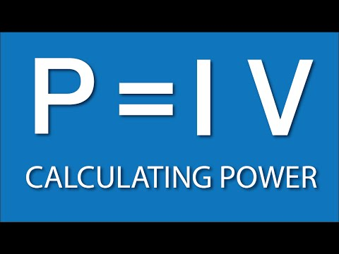 Calculating Power: Electronics Basics 4