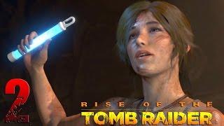Rise of the Tomb Raider. Прохождение. Часть 2 (Сирия, гробница) 60fps