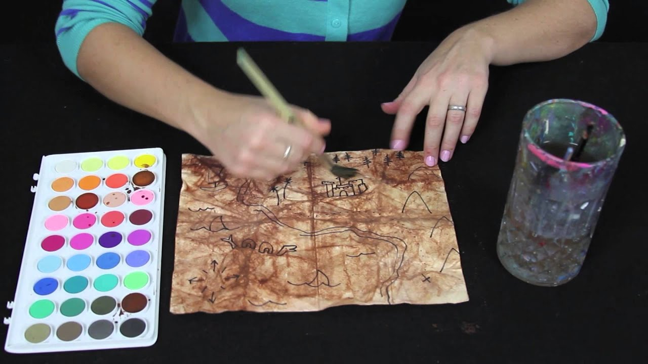 picture How to Make a Treasure Map