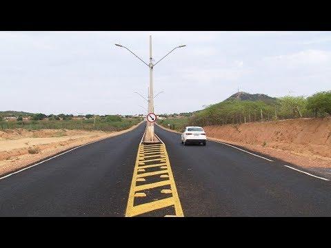 Morpará tem nova pavimentação em 30km da BA-160