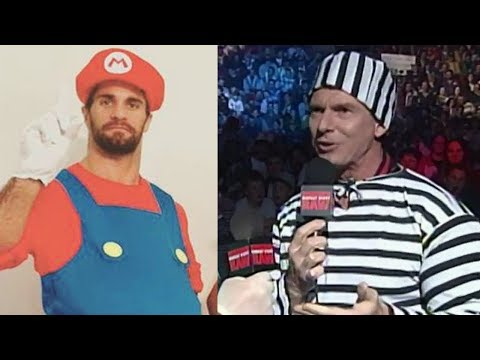 10 WWE Superstars in HALLOWEEN Costumes