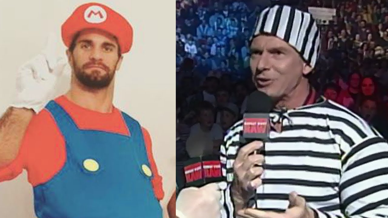 Awesome 10 WWE Superstars In HALLOWEEN Costumes