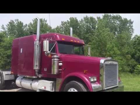 Freightliner Trucks For Sale >> 1998 FREIGHTLINER FLD120 CLASSIC For Sale - YouTube