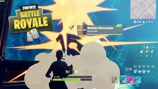 FORTNITE BATTLE ROYALE FREE TO PLAY - NOS CAE UN AIRDROP EN LA BASE - FloGar o.O