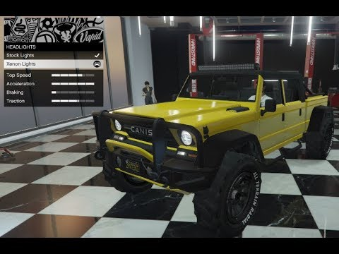 GTA 5 - DLC Vehicle Customization (Canis Kamacho) and Review
