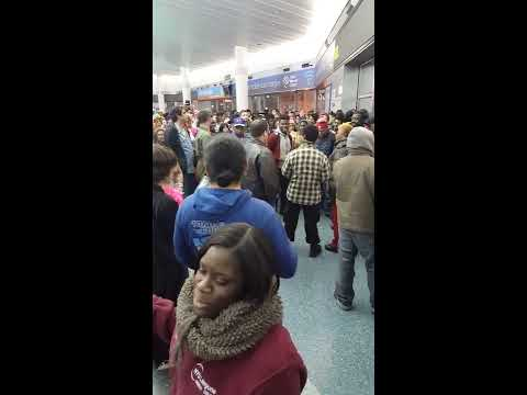 Fight in staten island ferry ny