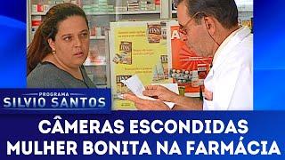 Mulher Bonita na Farmácia | Câmeras Escondidas (04/11/18)