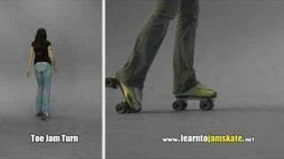 Learn To Jamskate: Toe Jam Turn