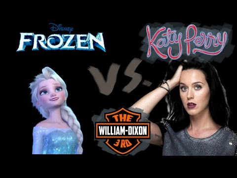 Let it ROAR!!!! Katy Perry and Frozen mashup