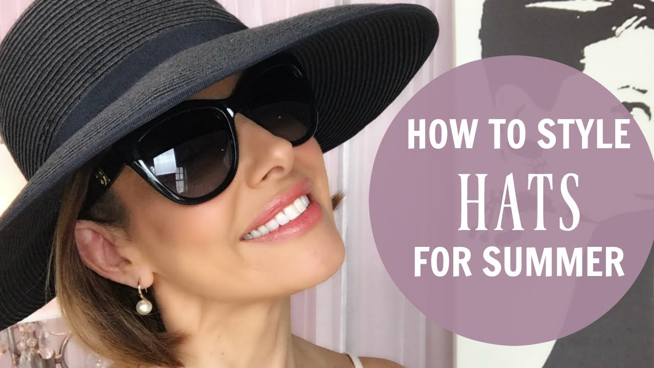68a2c38a HOW TO STYLE A HAT FOR THE SUMMER - YouTube