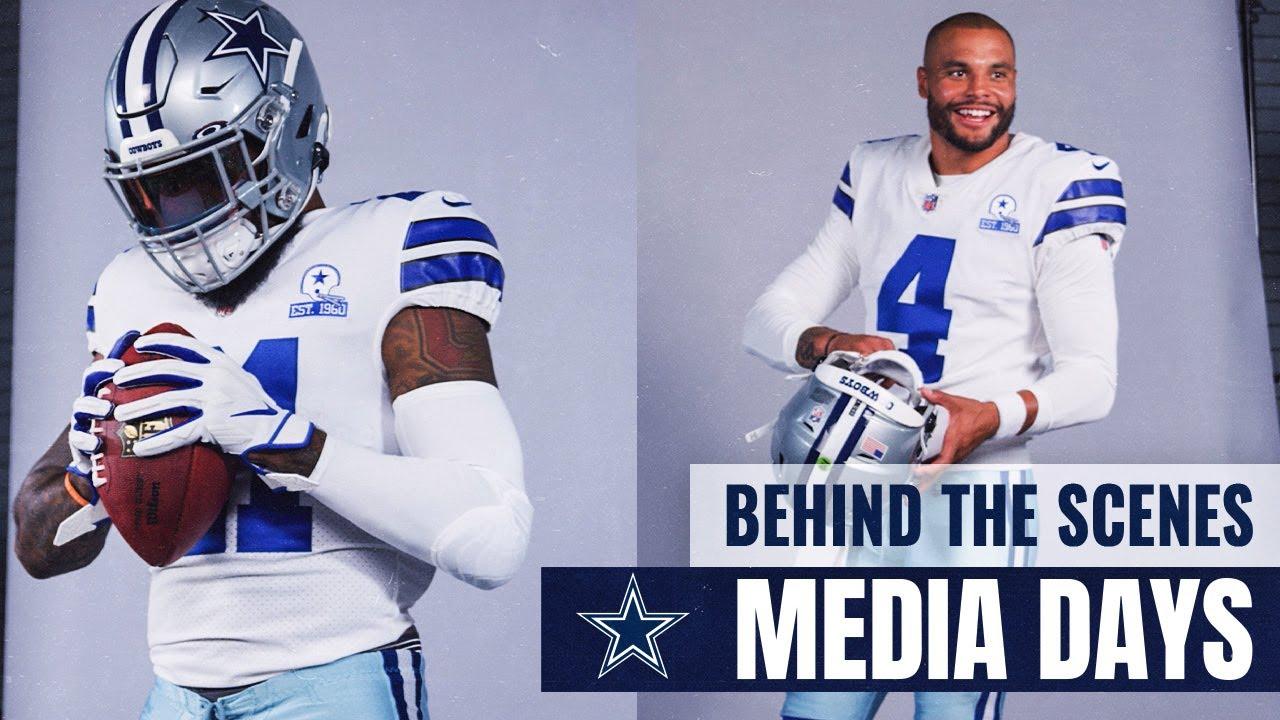 Behind the Scenes: Cowboys Media Days   Dallas Cowboys 2020