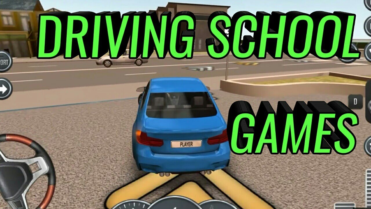 Steering Wheel Car Games For Kids Parking Driving Academy