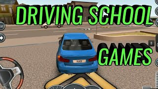 🚙🚌 Steering Wheel CAR GAMES FOR KIDS Parking Driving Academy ड्राइविंग स्कूल गेम  Mobile Kid Game