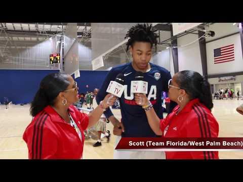 TwinSportsTV: Interview with Top High School Recruit Scott Barnes West Palm Beach