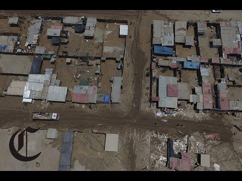 Dron : así se ve Punta Hermosa y Huarochirí tras sufrir huaico