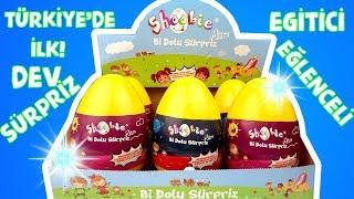 Türkiye' de İlk Eğitici Eğlenceli Sürpriz Yumurta Shoobie Kızlar, Erkekler Challenge Bidünya Oyuncak