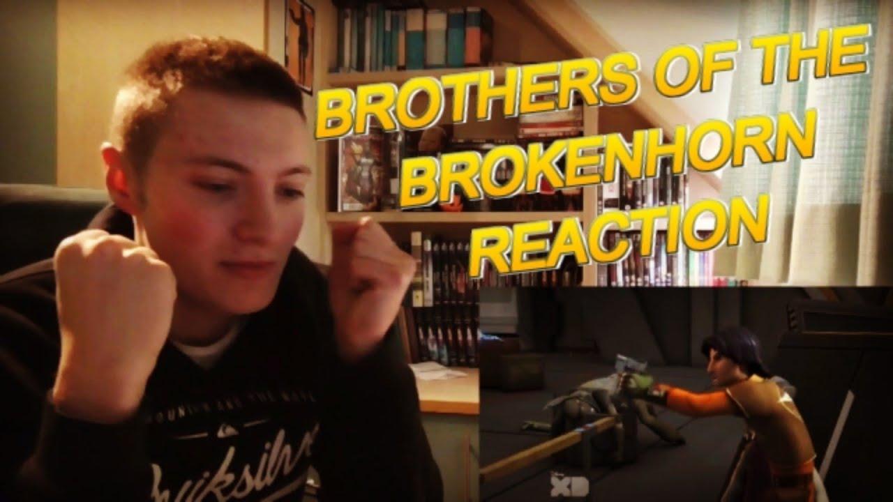 Download STAR WARS REBELS - 2X06 BROTHERS OF THE BROKEN HORN REACTION