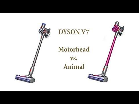 Пылесос Dyson V7. Версии Animal Vs. Motorhead. Обзор и тесты