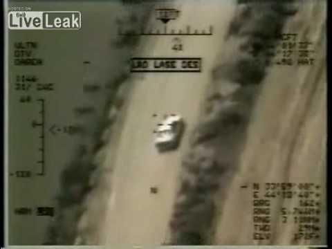 LiveLeak.com - UAV Predator Takes Out Insurgent Mortar Team With Hellfire Missile In Iraq.flv