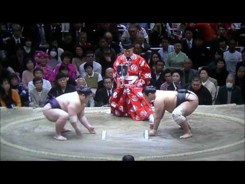 Sumo -Hatsu Basho 2017  Day 5, January 12th  -大相撲初場所 2017年 5日目