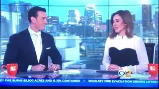 KCBS CBS 2 News this Morning at 6am open November 12, 2018