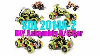 СДЛ 2014А - 2 DIY складання радіокеровану модель автомобіля