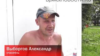 В Новозыбкове пляжники попросили закрывающуюся дверь в туалет